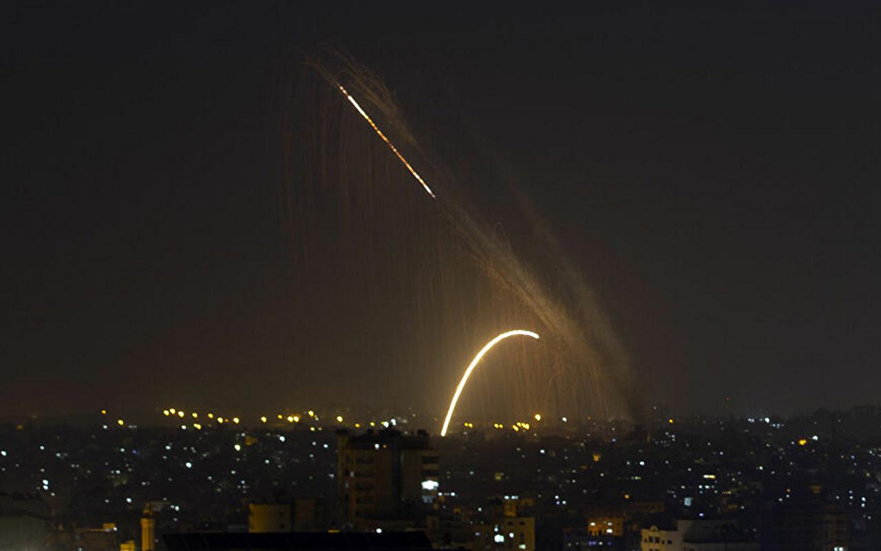 İsrail ordusu, Gazze'de Hamas'a ait bazı noktaları bombaladı