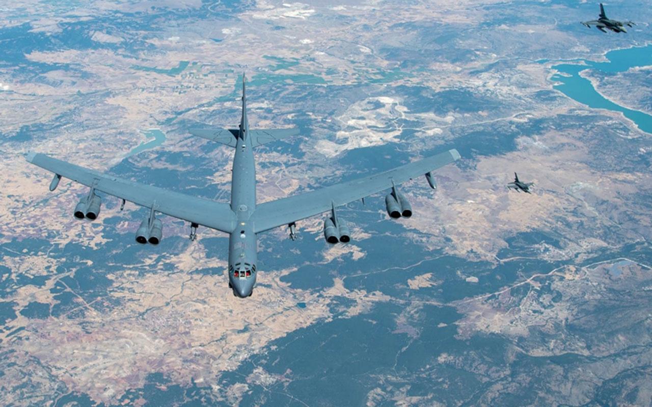 MSB: ABD uçağına yakıt ikmali ve eskort görevi icra edildi