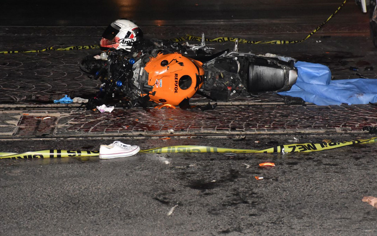 'Yaşamak için güzel bir akşam' paylaşımı yaptığı motosikletiyle geçirdiği kazada öldü