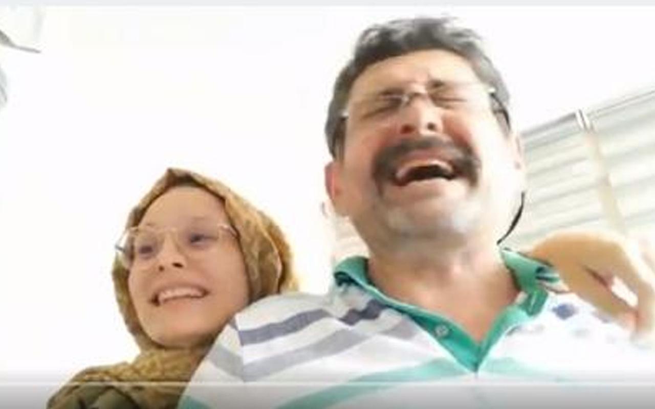 Antalya'da genç Berna ile babasının üniversite kazanma sevinci büyük ilgi gördü