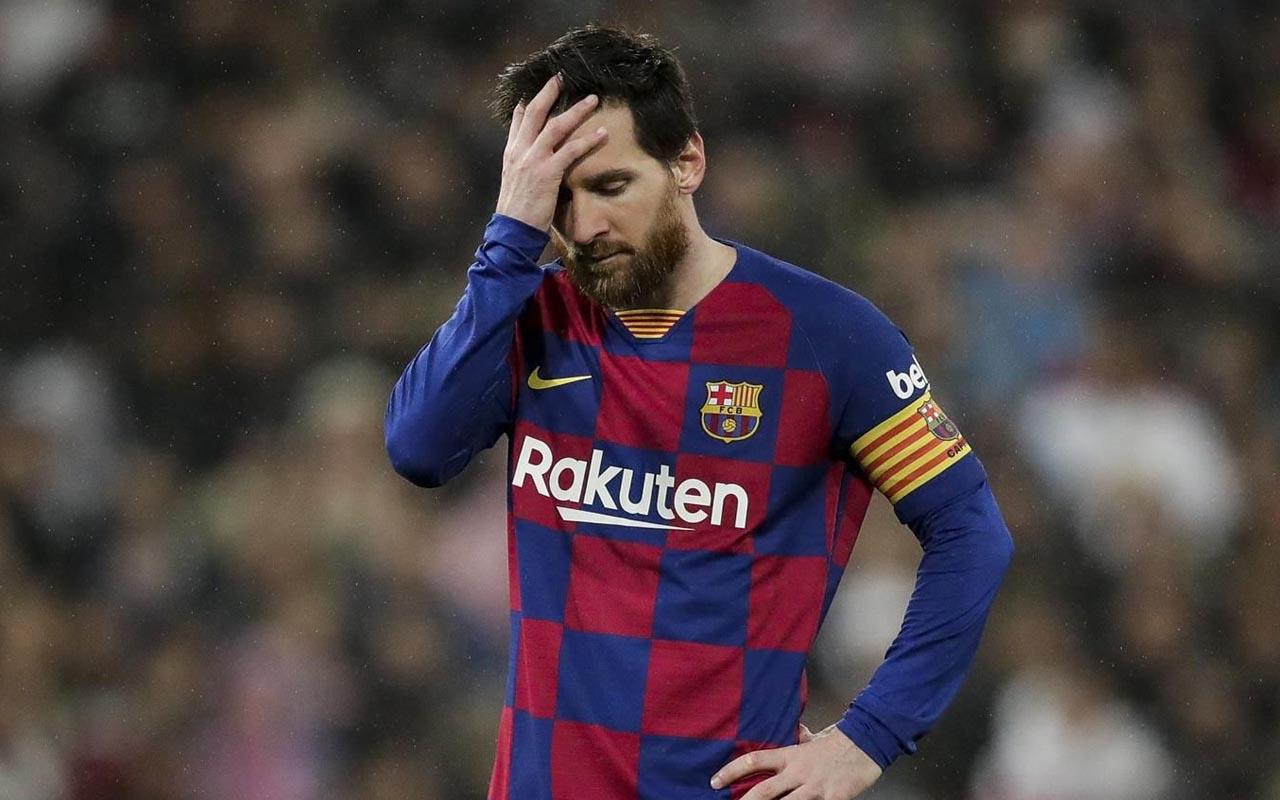 Lionel Messi'den 'koronavirüs' kararı Barcelona yönetimine bildirdi