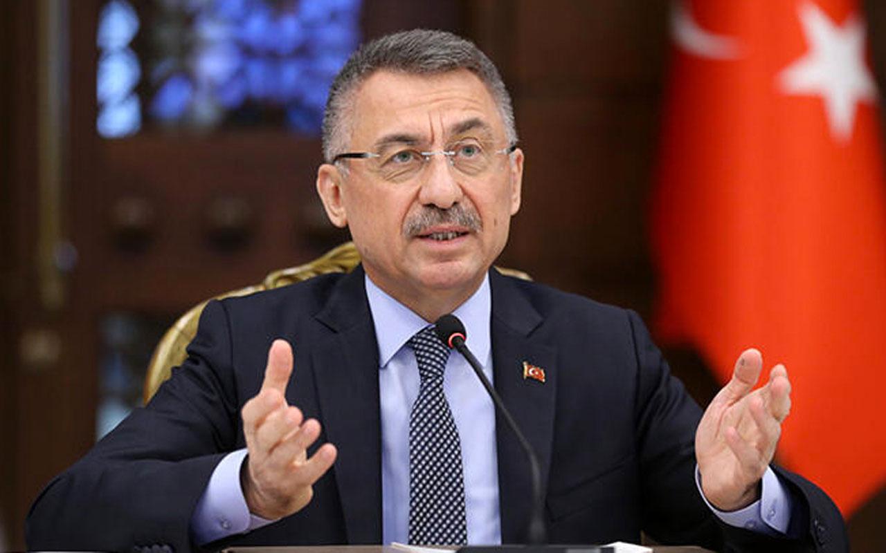 Cumhurbaşkanı Yardımcısı Fuat Oktay'dan AB'ye samimiyetsizlik tepkisi