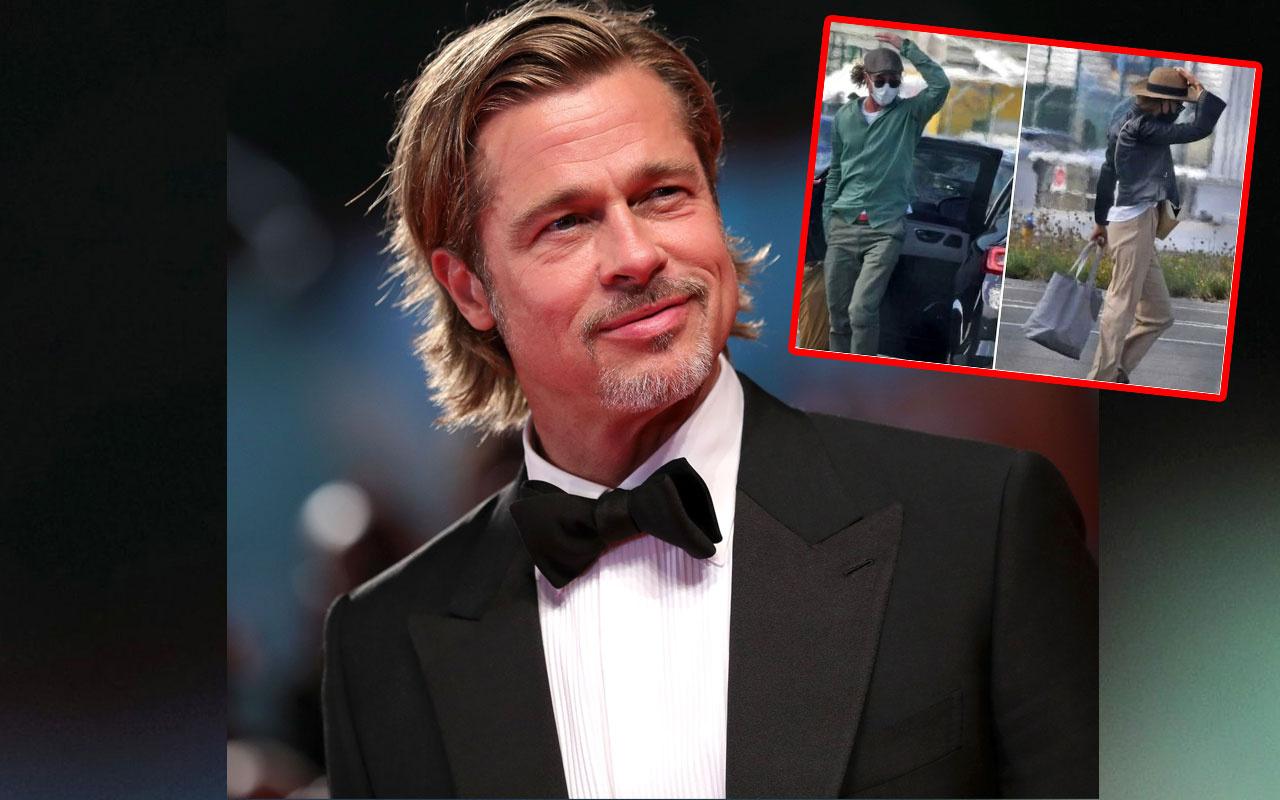Brad Pitt'in 29 yaş küçük sevgilisi Alman model Nicole Poturalski evli çıktı!