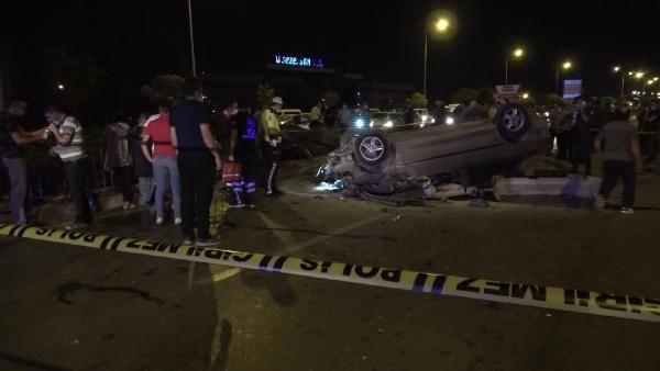 Konya'da otomobil, kamyonetle çarpıştı: 1 ölü, 3 yaralı