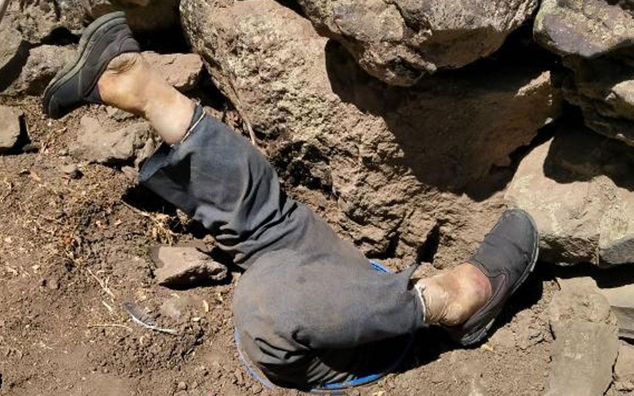 Kayseri'de feci olay!Su bidonu içerisinde erkek cesedi bulundu