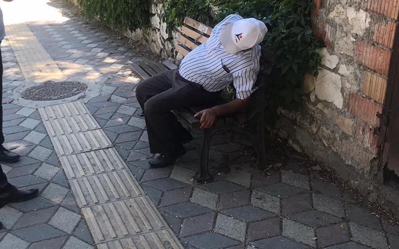 Bilecik'te 45 dakikalık yaşam savaşı! Bankta otururken kalp krizi geçirdi