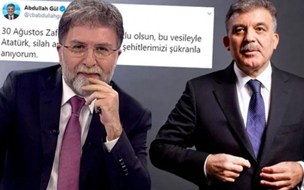 Ahmet Hakan Abdullah Gül'ün paylaşımını tiye aldı! 'Delice gülerek okudum'