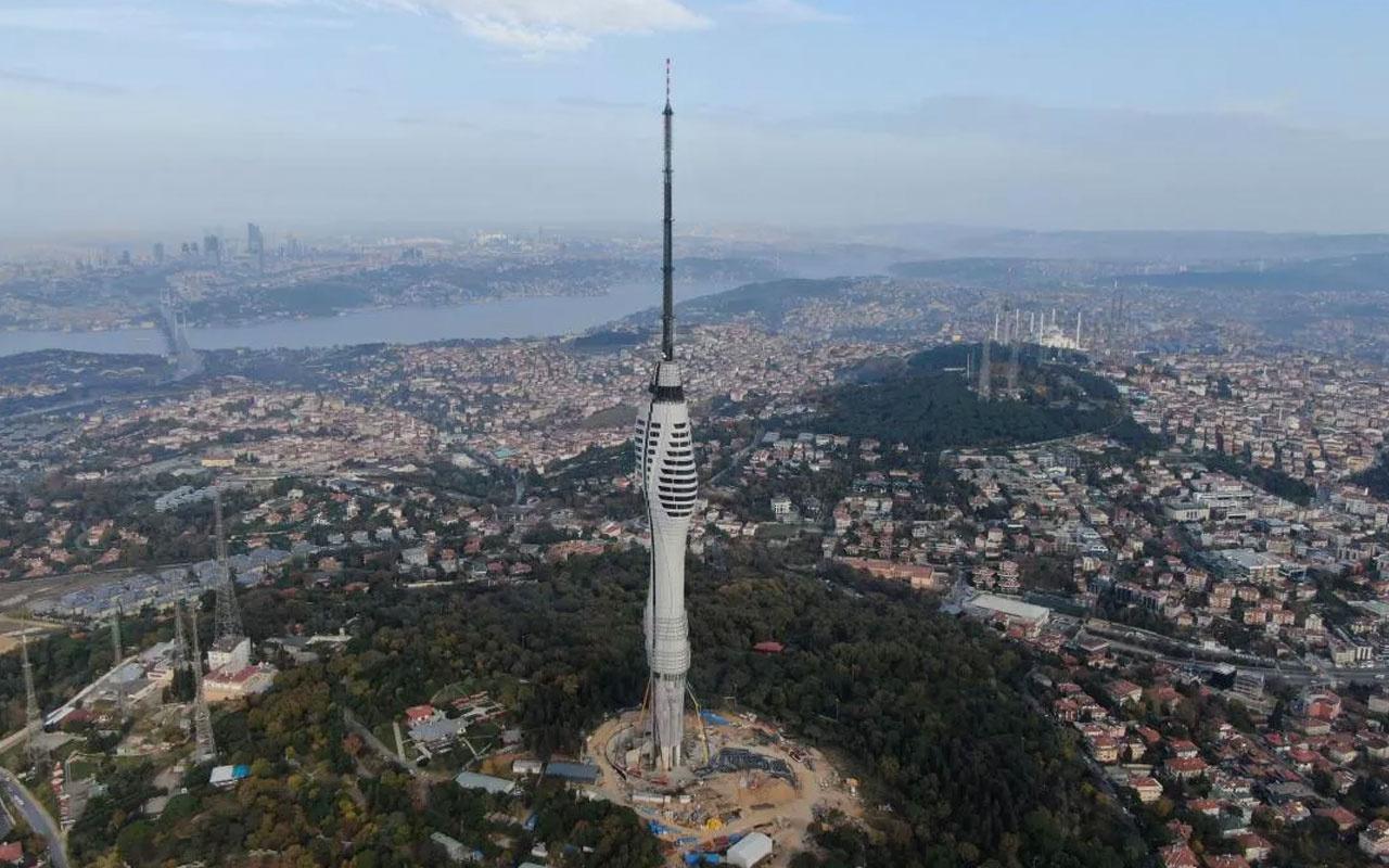 Küçük Çamlıca TV-Radyo Kulesi'nin açılış tarihi belli oldu