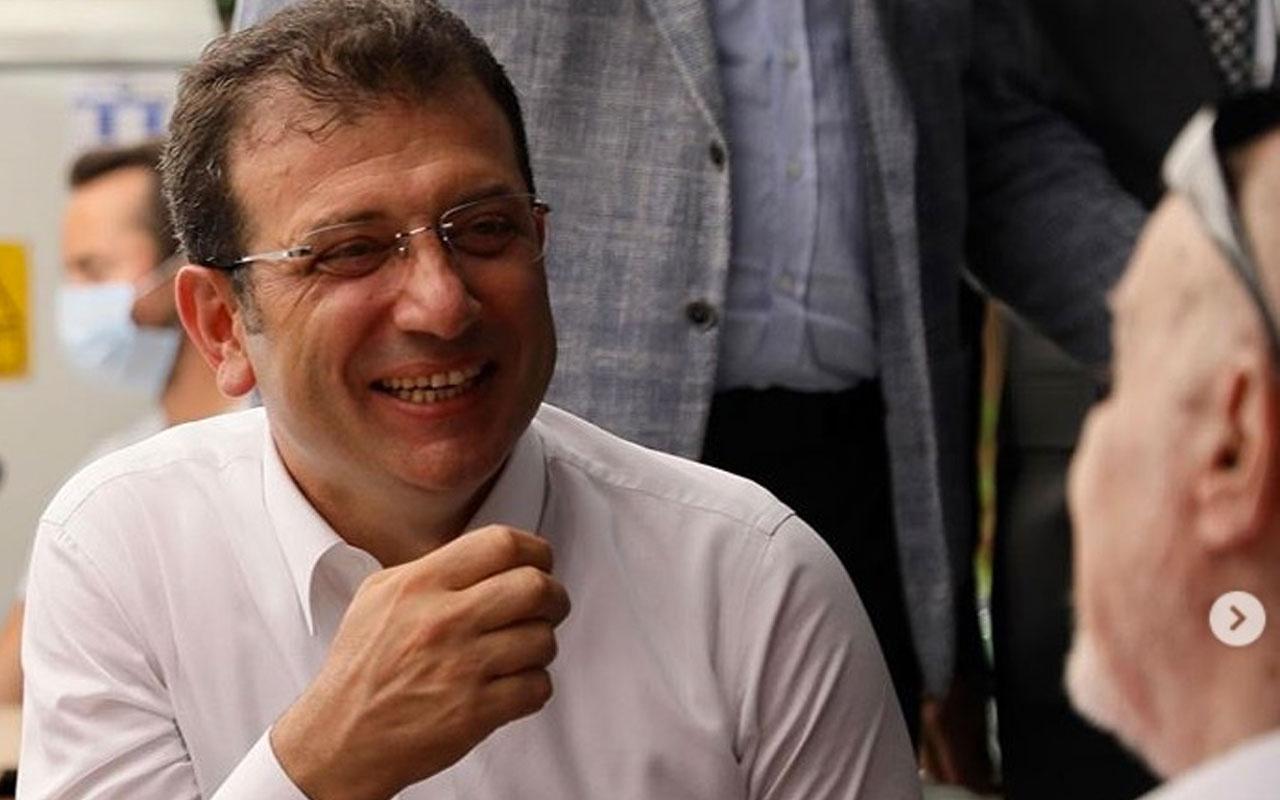 Ekrem İmamoğlu ile Sabah yazarı Hıncal Uluç buluştu! İkili kahve içti sohbet etti
