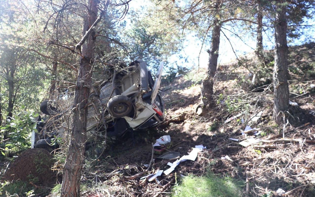 Kastamonu'da düğün dönüşü feci kaza! Karı koca hayatını kaybetti