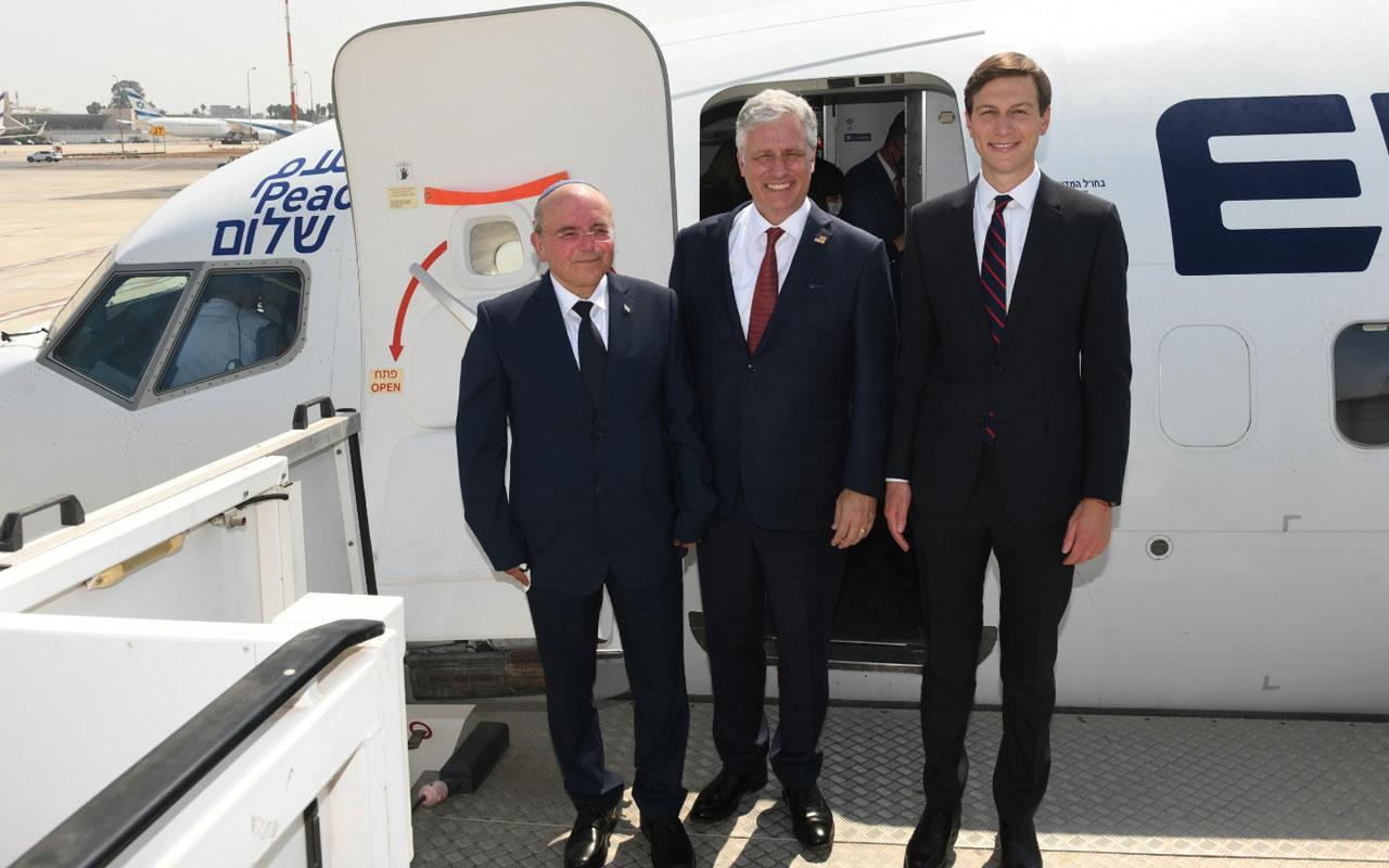 İsrail-BAE arasında ilk ticari uçuş gerçekleştirildi