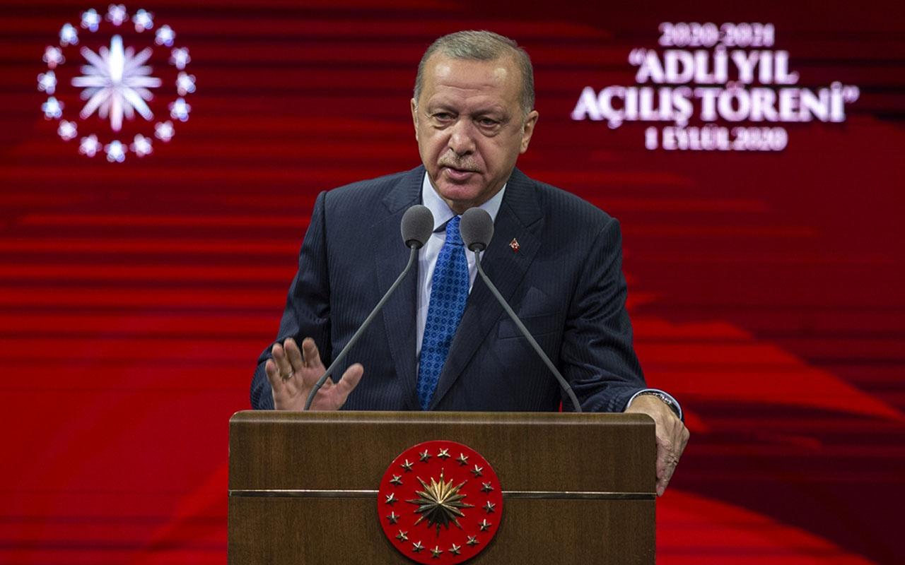 Cumhurbaşkanı Erdoğan'dan çok sert sözler! Avukatlıktan teröristliğe uzanan kanlı yolu keseceğiz