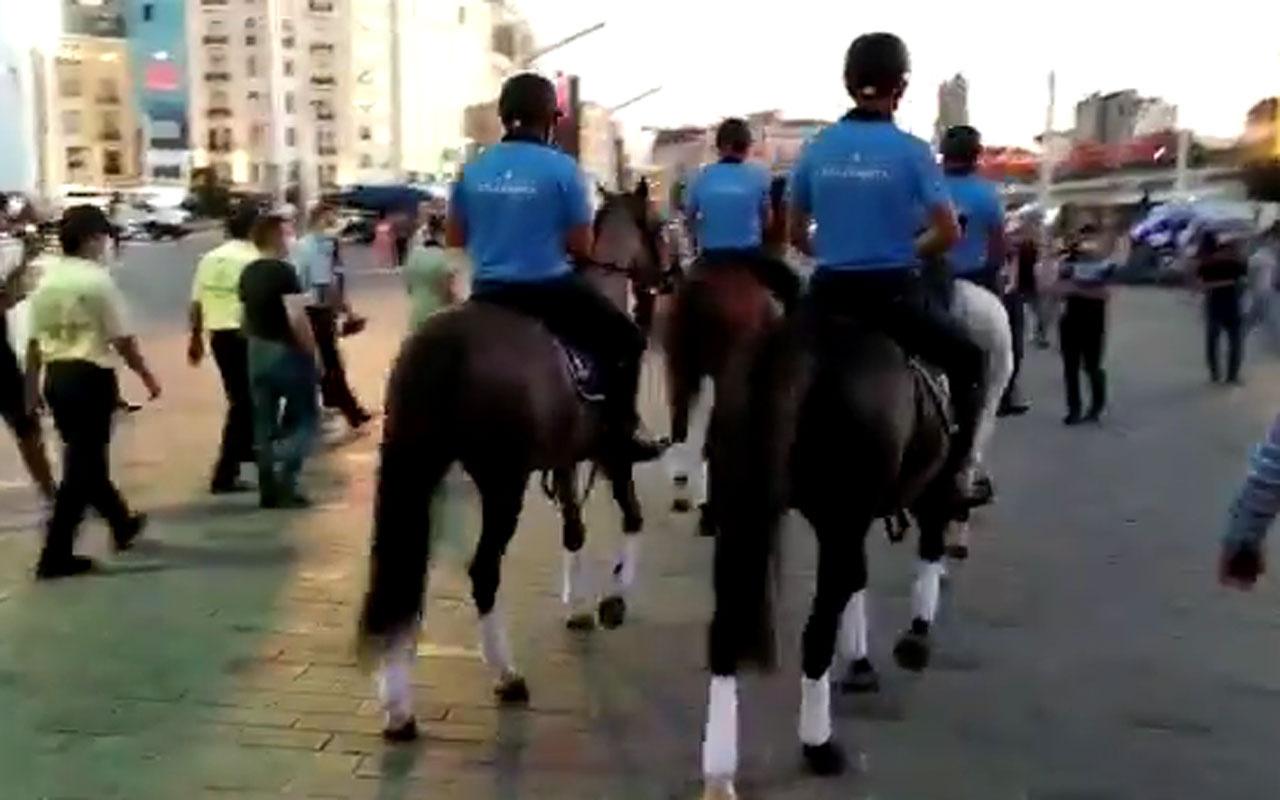 İstanbul'da atlı zabıta dönemi başlıyor Murat Ongun Twitter'dan duyurdu