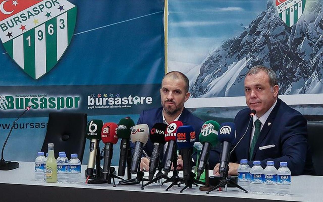 Bursaspor teknik direktör Mustafa Er ile sözleşme imzaladı