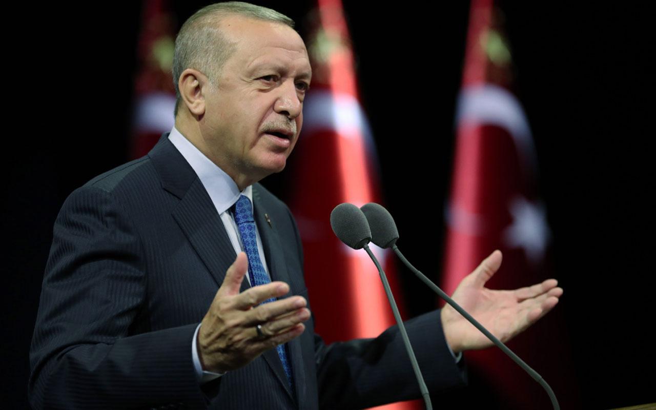 Cumhurbaşkanı Erdoğan'dan İstanbul Barosu'na pankart tepkisi