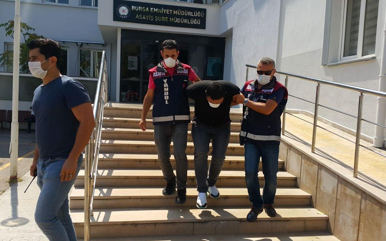 Bursa'da vatandaş polis iş birliği yaptı 'savcıyım' diyen dolandırıcı böyle paketlendi