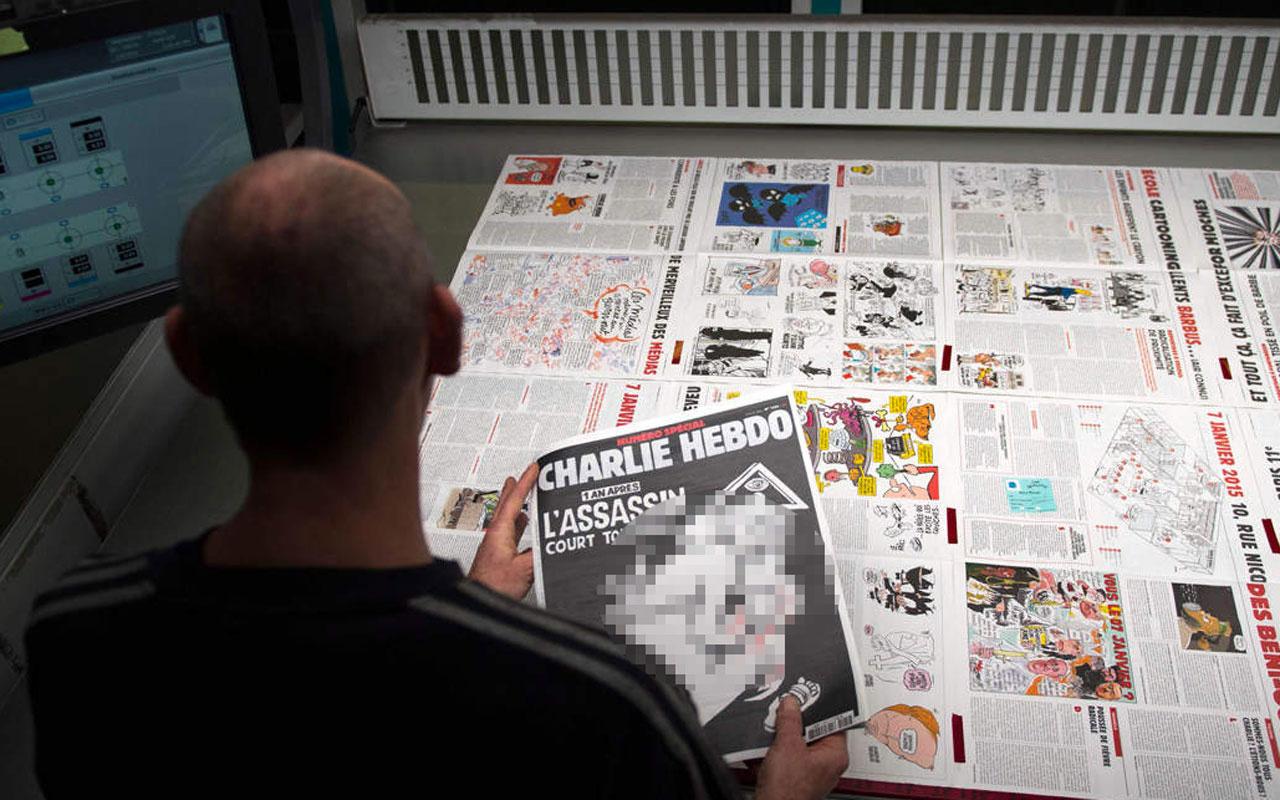 Charlie Hebdo, Hz. Muhammed karikatürlerini yeniden yayımlıyor! Saldırıya uğramıştı