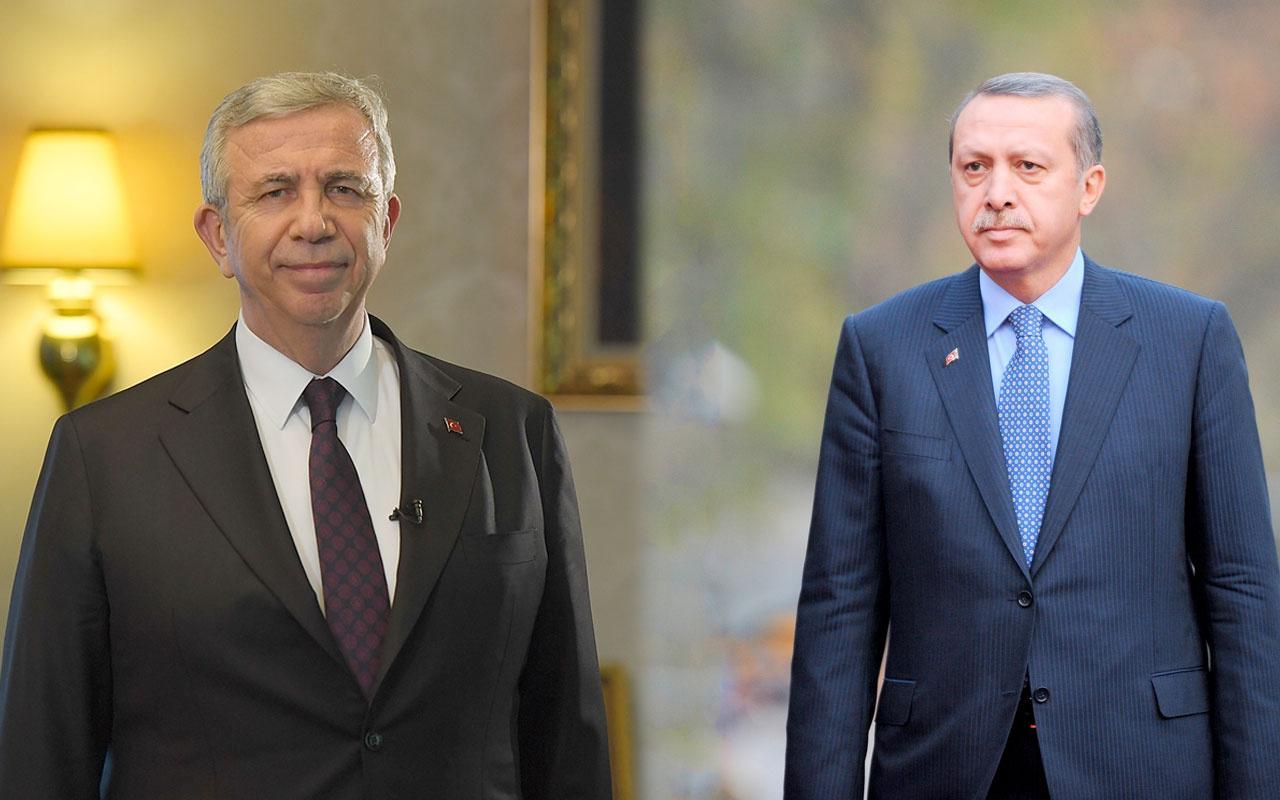 Cumhurbaşkanı Erdoğan Beştepe'de Mansur Yavaş'ı kabul edecek