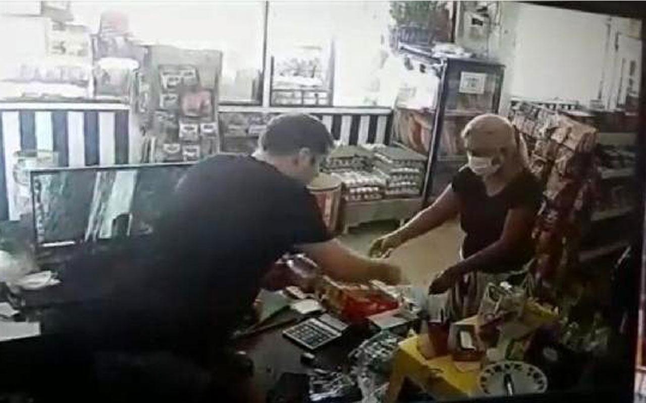 Tırnakçı kadından market sahibine garip tehdit! Tecavüz etti derim...