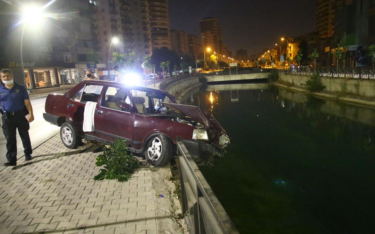 Adana'da sulama kanalına düşmekten demir korkuluk kurtardı - Internet Haber