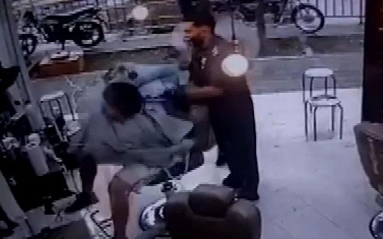 Korkunç olay! Berber koltuğundaki müşteriyi infaz etti