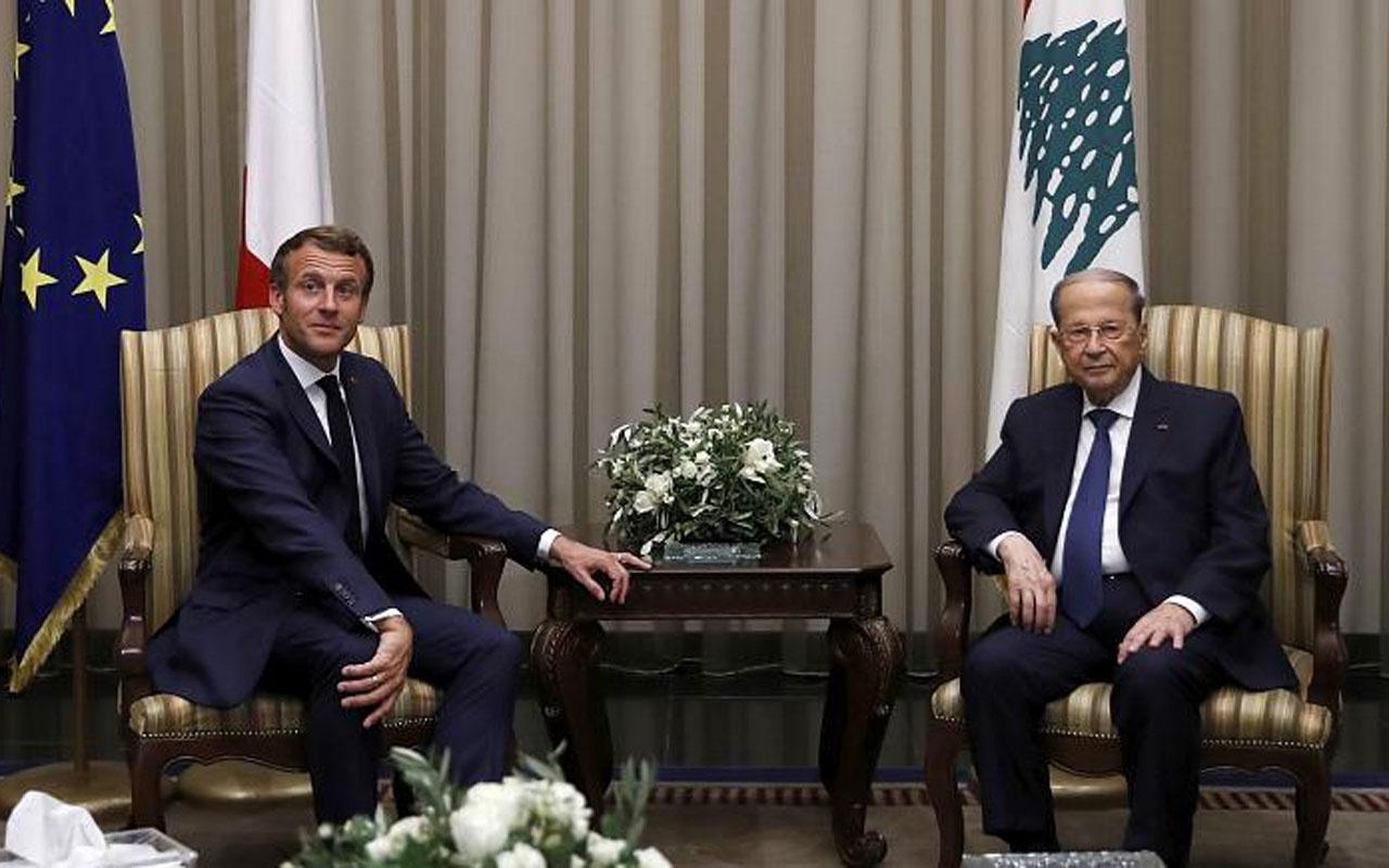Macron yeniden Lübnan'da: Fransızlar için kardeş gibisiniz
