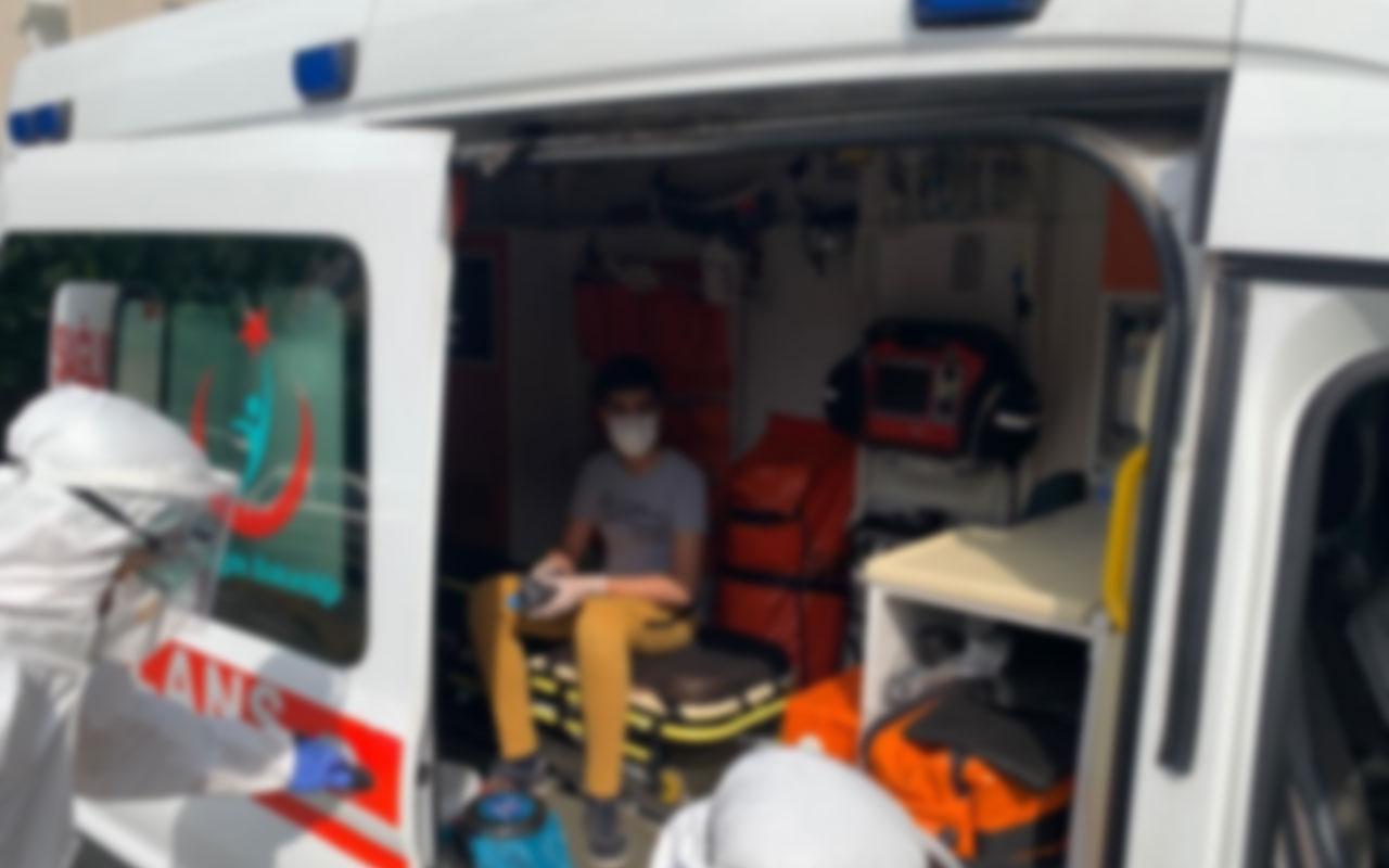 Afyonkarahisar'da koronavirüs testi pozitif çıkan öğrenciler sınava ambulansla götürülecek
