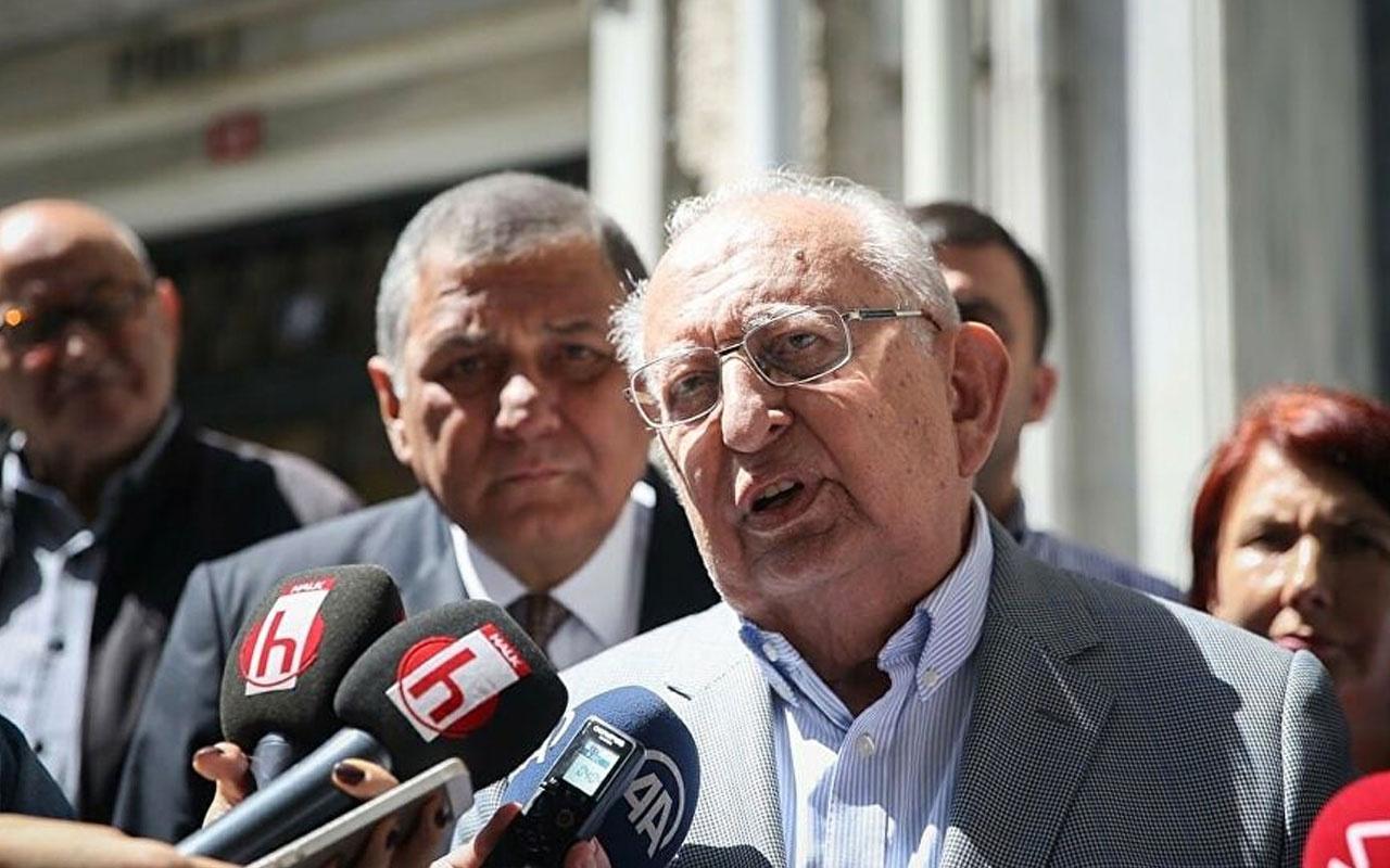 TBMM eski Başkanı Hüsamettin Cindoruk: Krizi fırsata çevirip 12 Ada'yı geri isteyebiliriz