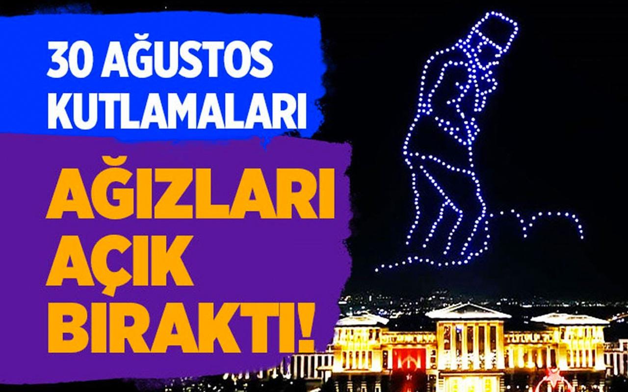 Beştepe'deki 30 Ağustos kutlamaları ağızları açık bıraktı!