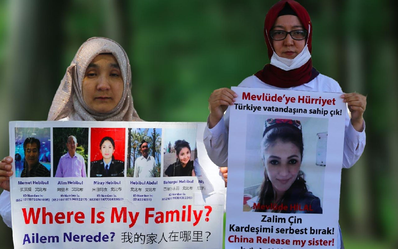 Çin'in Uygur Türklerine zulmü sürüyor! Türkiye Cumhuriyeti vatandaşı Uygurlar'da tutuklandı