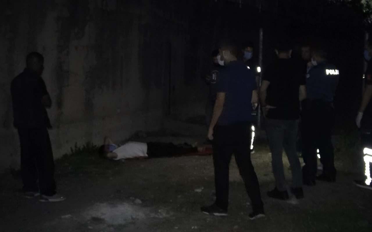 Sultangazi'de devriye gezen polis bacağından vurulmuş olarak buldu