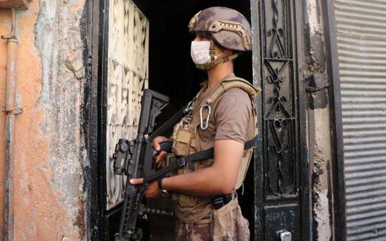 Gaziantep'te 655 polisle 12 saat sürecek dev operasyon başladı