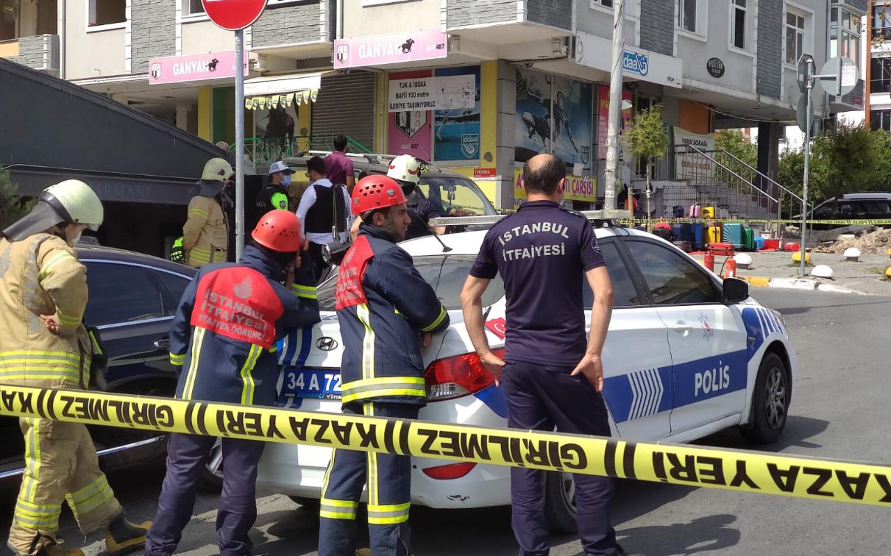 Avcılar'da silahlı kişi mağaza bastı polis alarma geçti