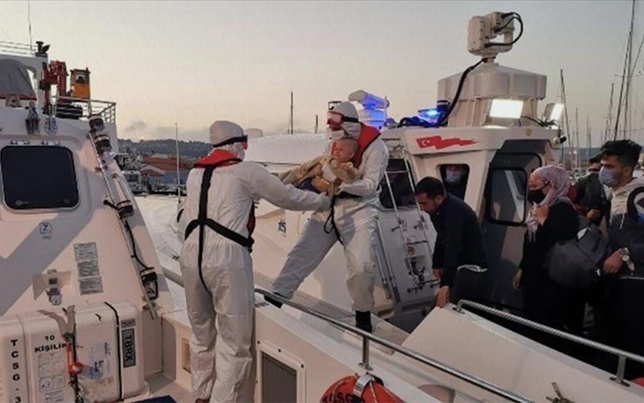 İzmir'de 179 sığınmacı kurtarıldı