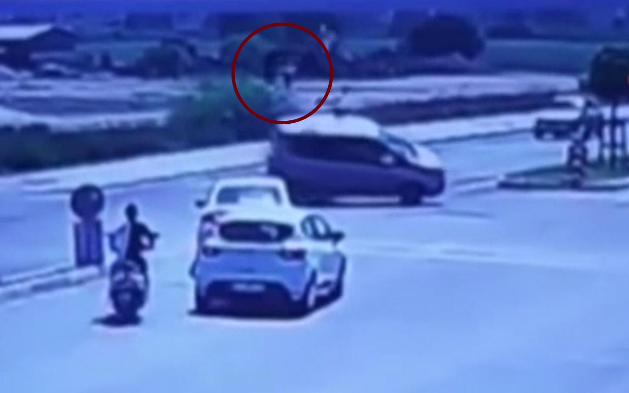Antalya'da Yunus timinin ölümden döndüğü anlar kameraya yansıdı