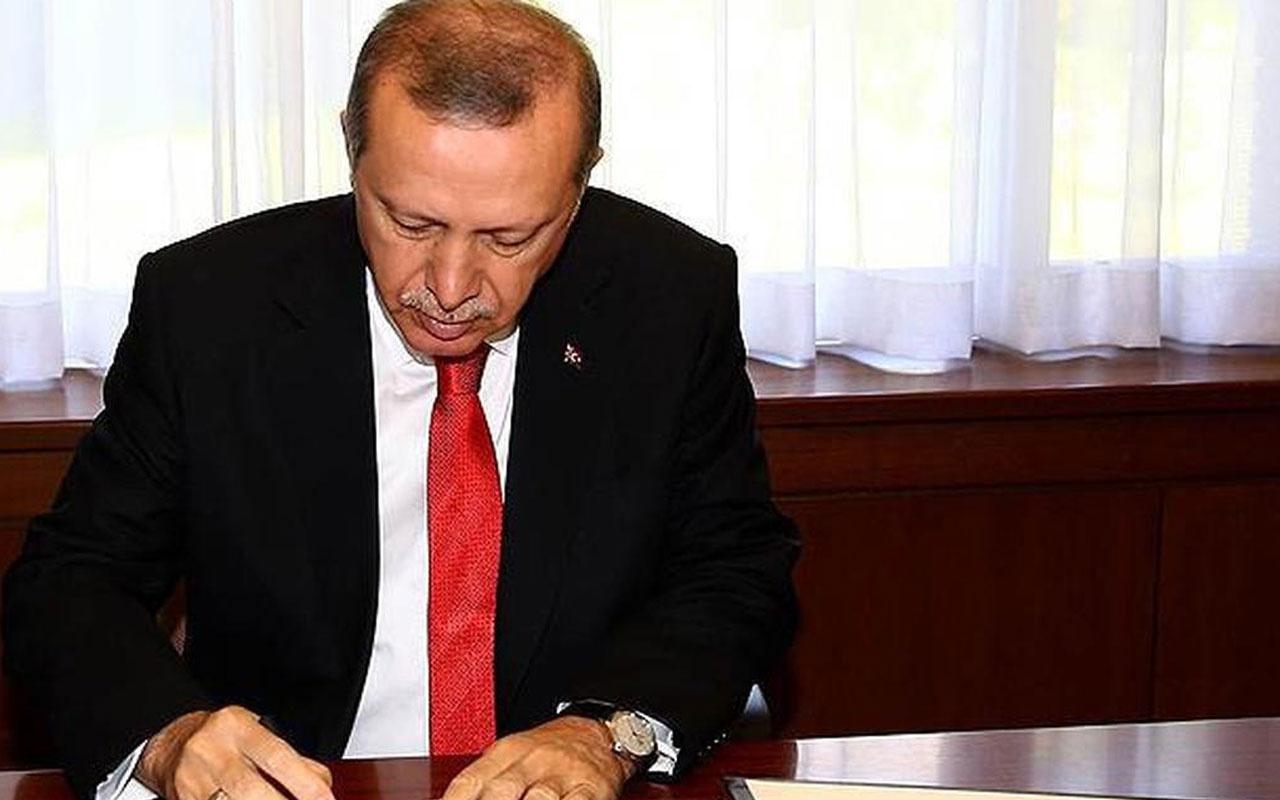 Cumhurbaşkanı Recep Tayyip Erdoğan 6 üniversiteye rektör atadı