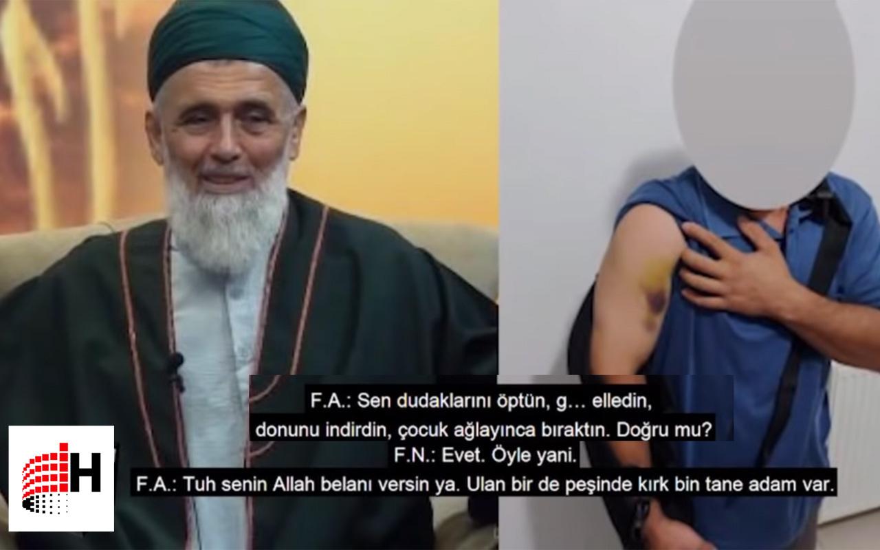 Fatih Nurullah ses kaydı 2- Uşşaki tarikatı lideri cinsel tacizi kabul ediyor