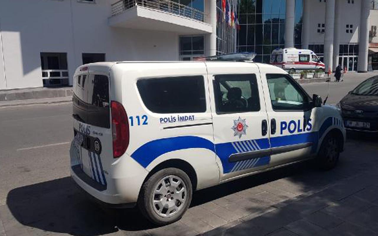 Kayseri'de 22 yaşında otel odasında asılı bulundu
