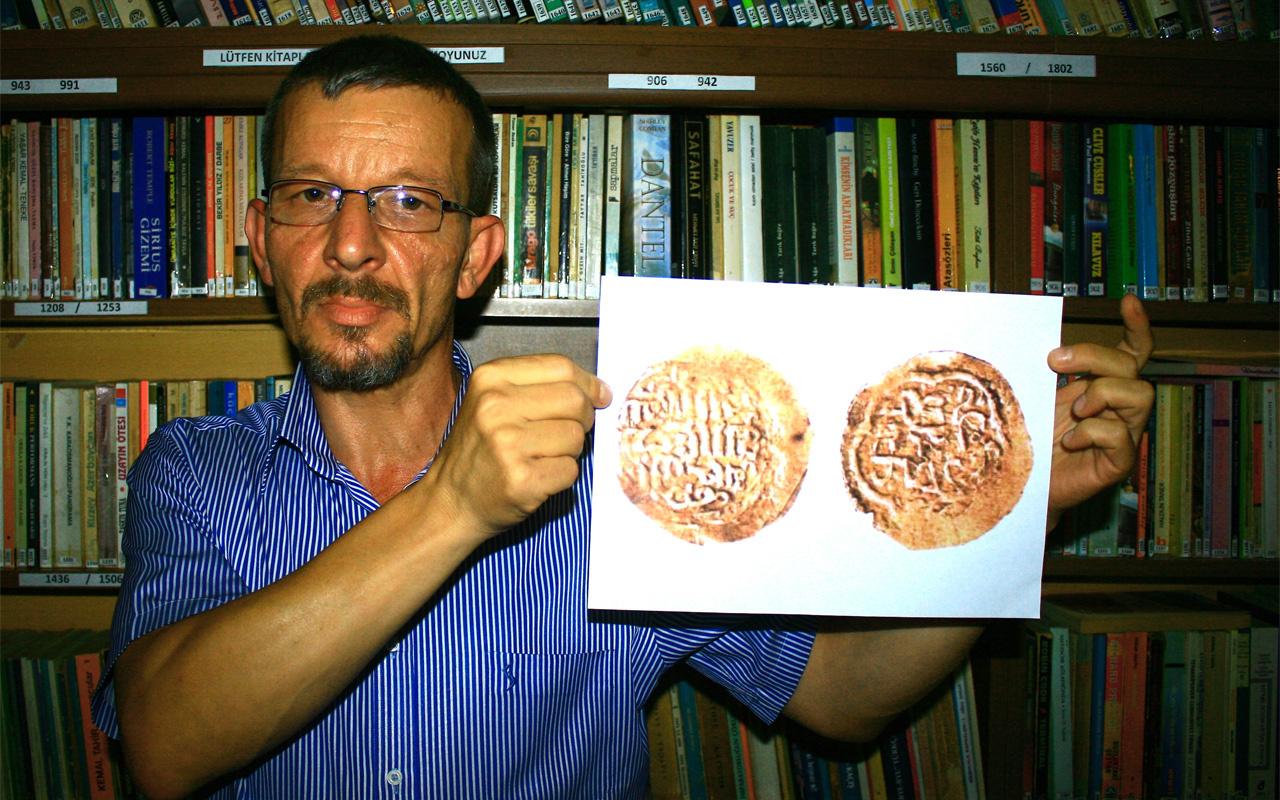 Koleksiyonerlerin paha biçemediği Osmanlı'nın ilk sikkesi Katar'da