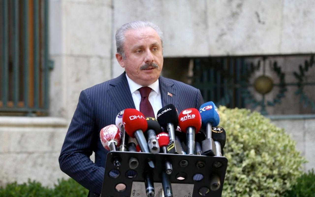 Meclis Başkanı Mustafa Şentop'tan Devlet Bahçeli'ye 'idam cezası' desteği