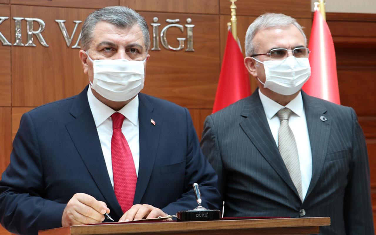 Sağlık Bakanı Fahrettin Koca açıkladı! Diyarbakır'da korona salgın kontrol altında