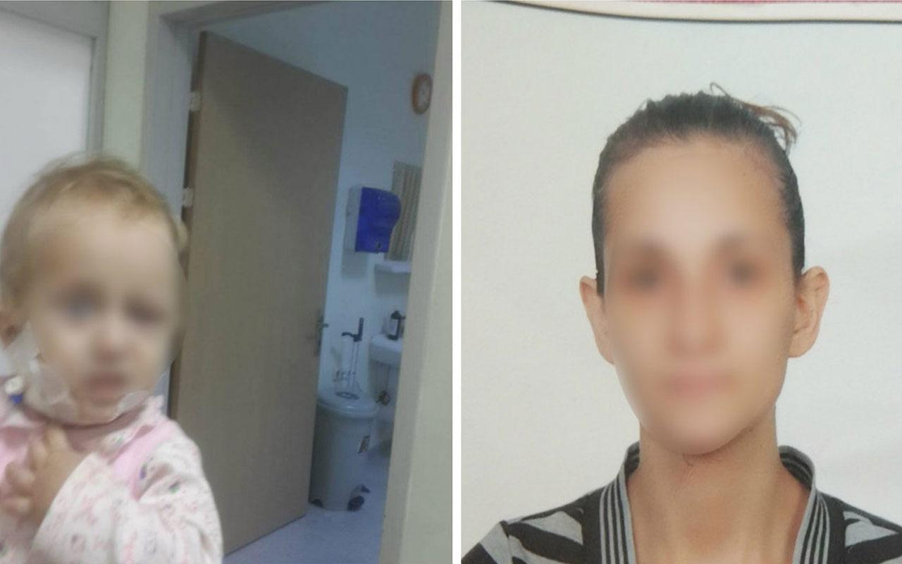 İtiraf etti! 1.5 yaşındaki öz kızını jiletle kesip vücuduna çamaşır suyu enjekte etti