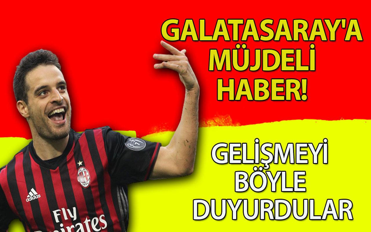 Galatasaray'a müjdeli haber! Gelişmeyi böyle duyurdular