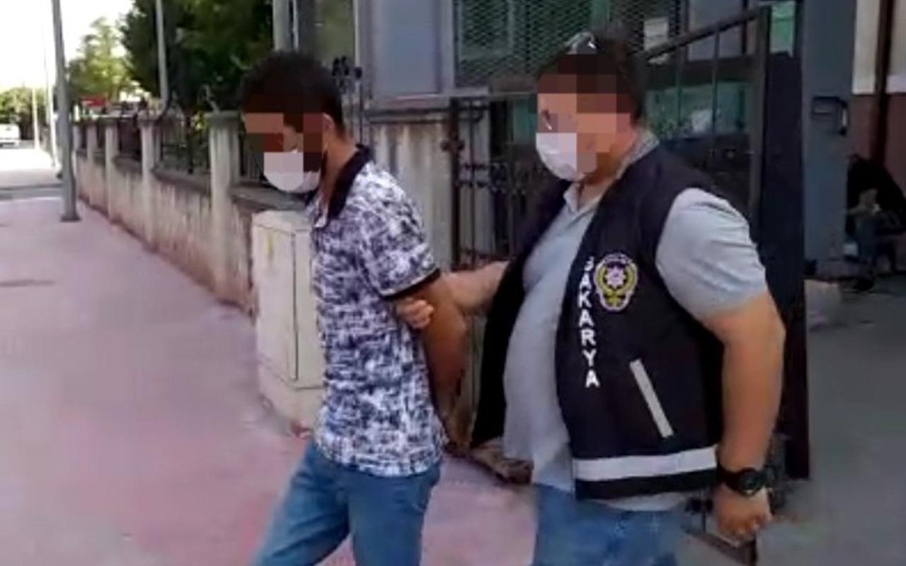 Sakarya'da çocukların kabusu oldu yakalandı