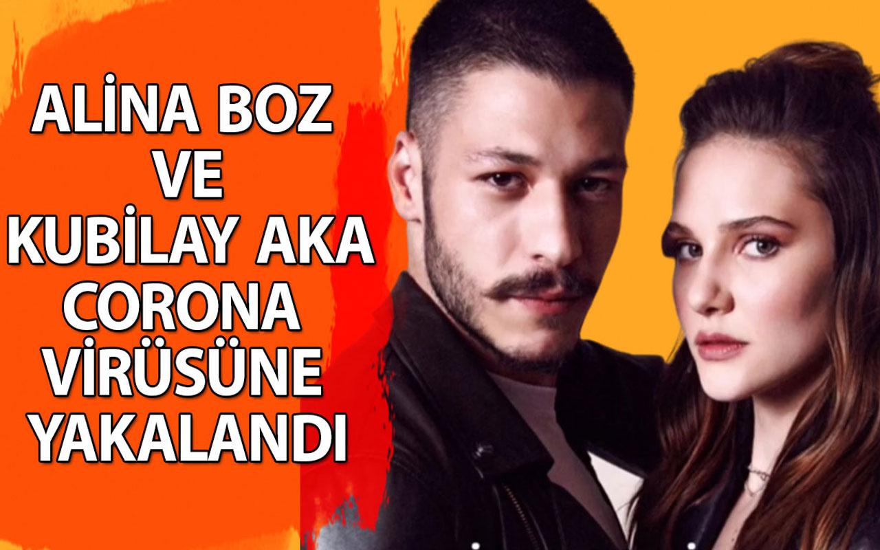 Alina Boz ve Kubilay Aka koronavirüse yakalandı!