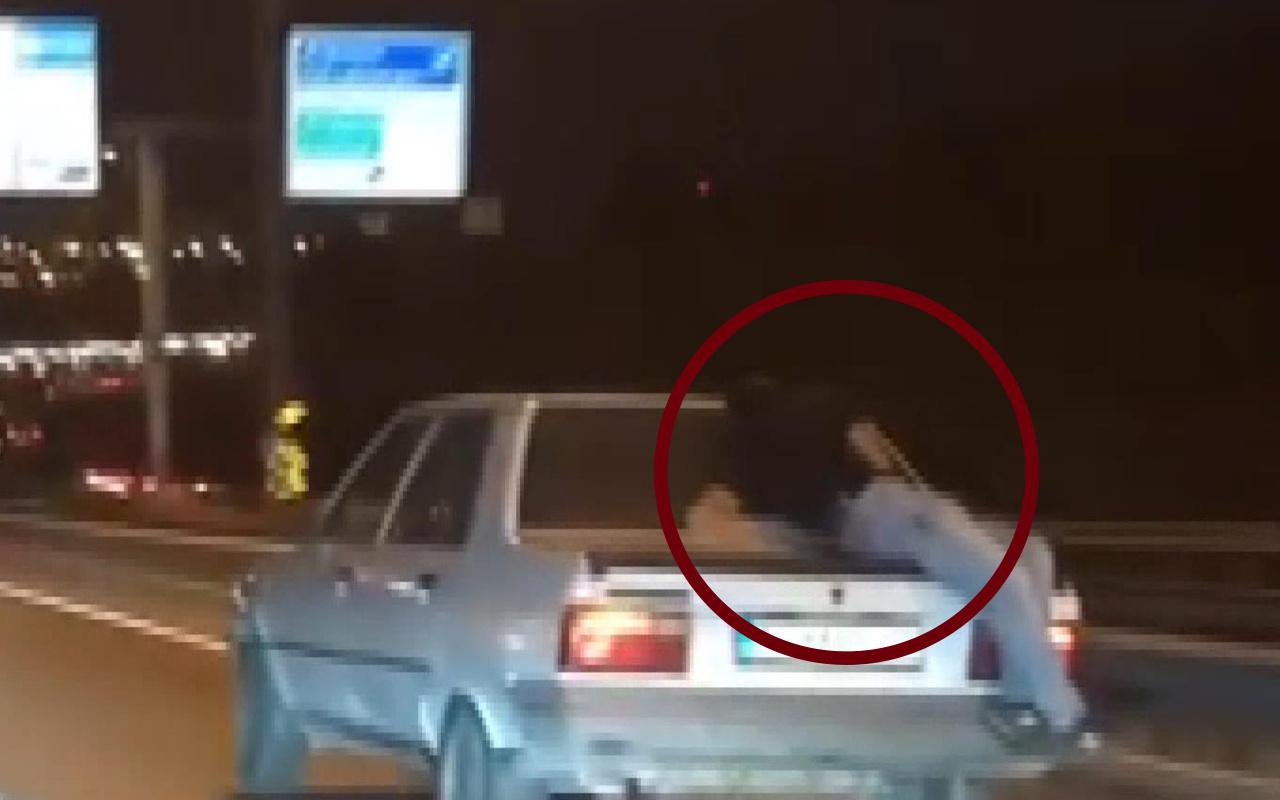 Bakırköy'de bu görüntünün sorumlusu sürücü yakalandı ifadesi şaşırttı