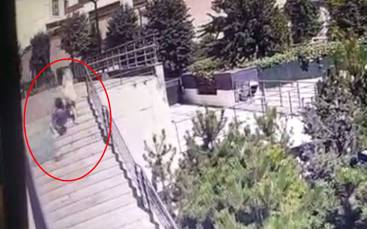 Bahçelievler'de feci olay! Lüks rezidanstaki ölümün görüntüleri ortaya çıktı