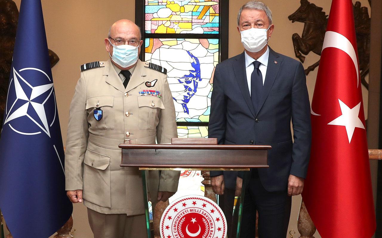 Ankara'da kritik Doğu Akdeniz görüşmesi sonrası MSB'den açıklama