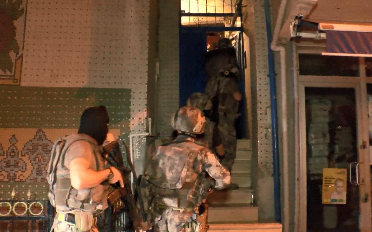 İstanbul'da 6 ilçede uyuşturucu operasyonu