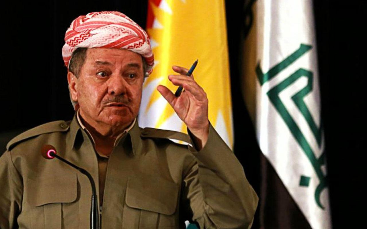 Mesud Barzani'den PKK'ya sert sözler: Dünyada kölelik sona erdi ama sizde hala var